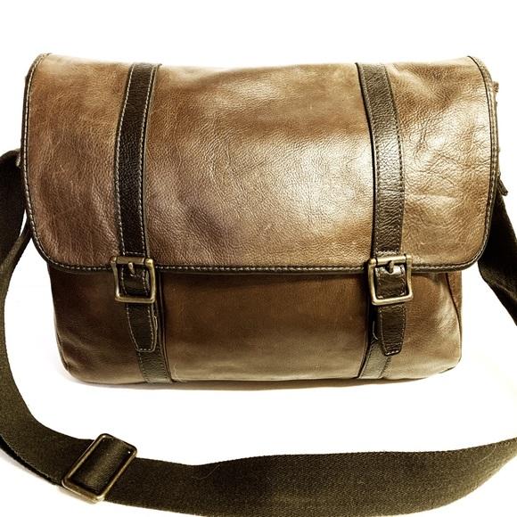 c3542cd290 Fossil Bags | Mens Estate Ew Messenger Bag Mbg9092 | Poshmark